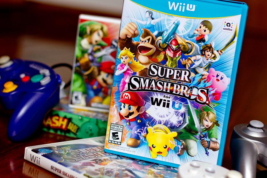 「大乱闘スマッシュブラザーズ for WiiU」のパッケージ