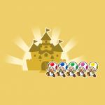 【スーパーマリオ ラン】キノピオ (あか、あお、みどり、むらさき、きいろ) の入手方法