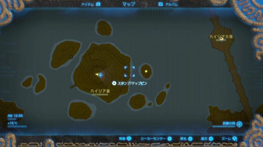 ディーメがいる場所の地図