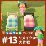 【あつ森】あつまれ どうぶつの森 プレイ日記 第13回「リメイク★大作戦」
